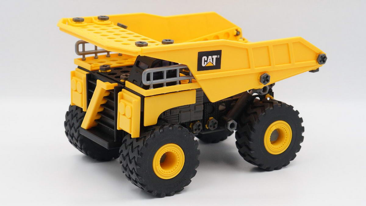 CAT出品,益智拼装玩具工程车、挖掘机-爱扫货