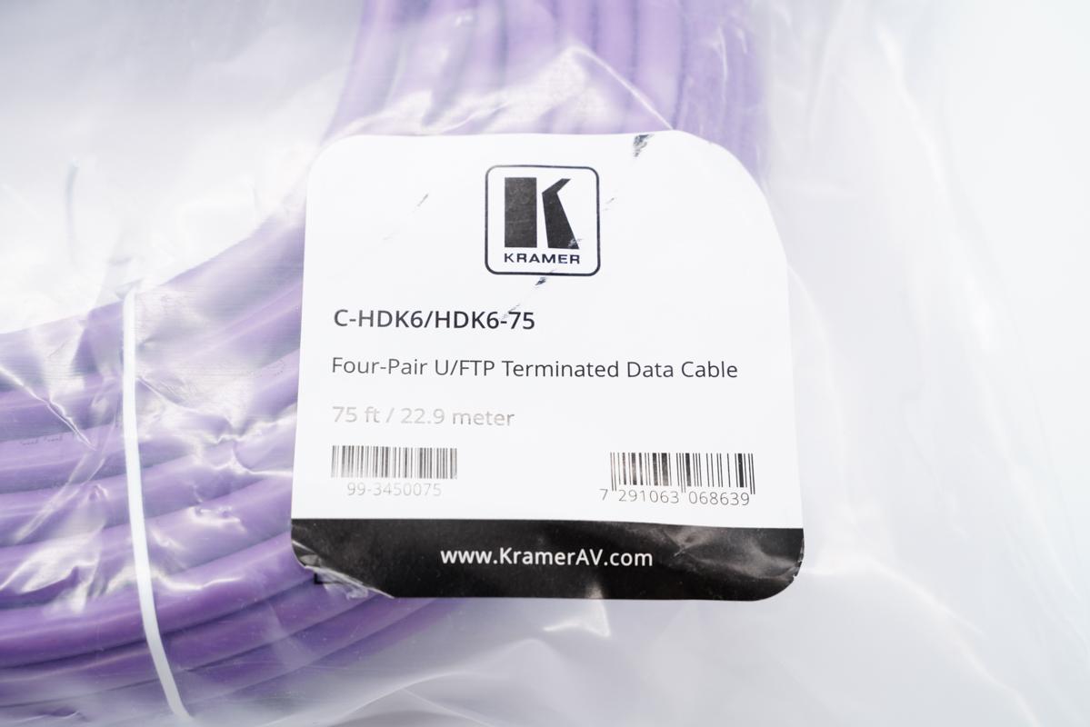 KRAMER 6类屏蔽网线-爱扫货
