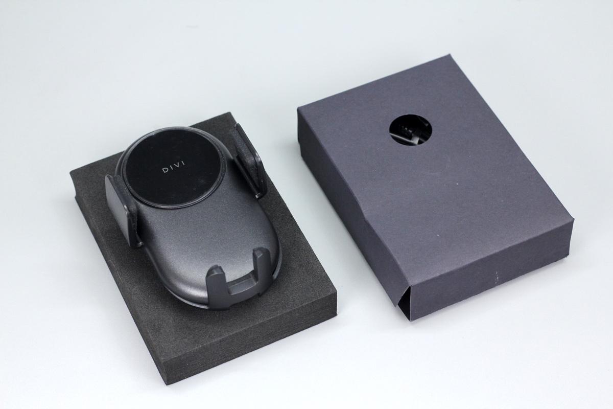 DIVI车载无线充电动手机支架,支持10W无线充电功率-爱扫货