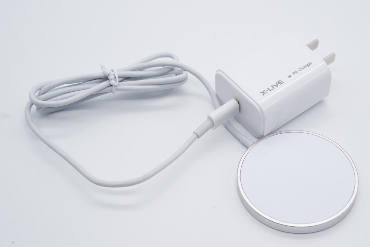 DIVI 18W PD充电器磁吸套装,苹果12磁吸无线充-爱扫货