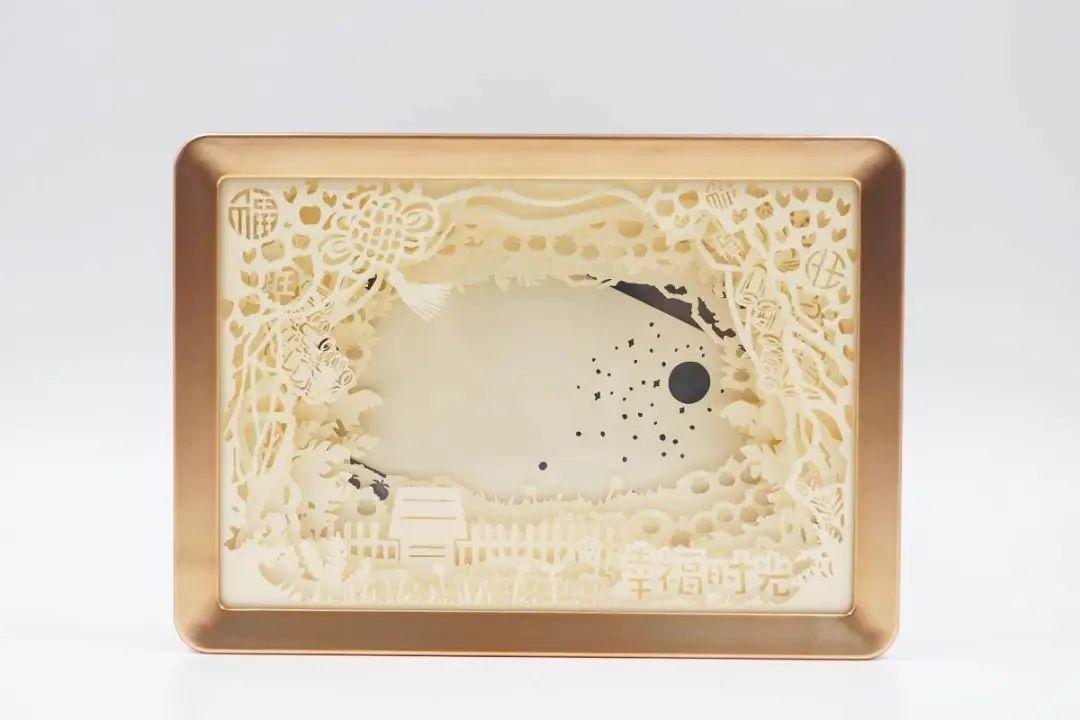 史努比正版授权触碰式夜灯相框贺岁礼盒版-爱扫货
