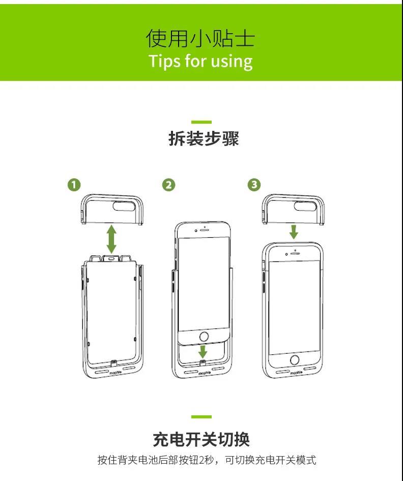 大牌手机背夹电池,老款iPhone的第二春-爱扫货