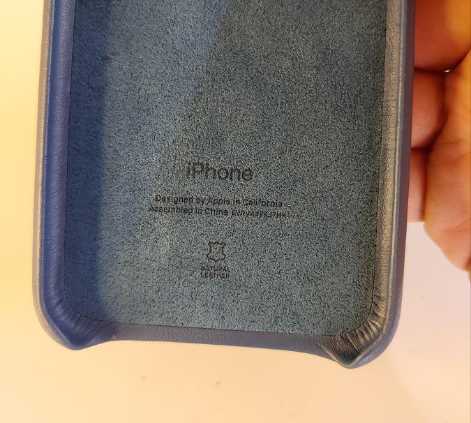 苹果商店原装iPhone 7/8/SE2真皮手机壳-爱扫货